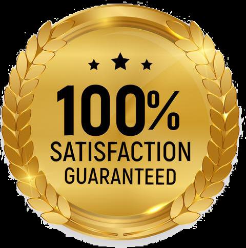 satisfaction guaranteed